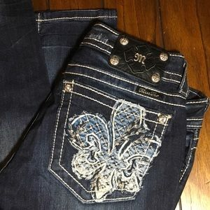 95% off Miss Me Denim - MISS ME SKINNY JEANS SIZE 30 from Lesley's ...