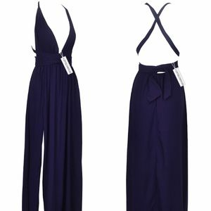 Privacy Please Dresses & Skirts - Navy blue maxi dress😍