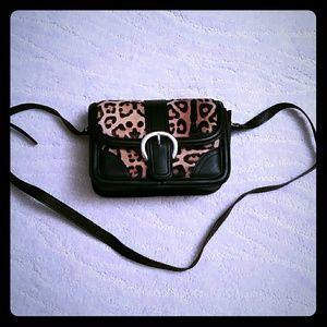 NWT TOPSHOP ANIMAL PRINT crossbody bag .