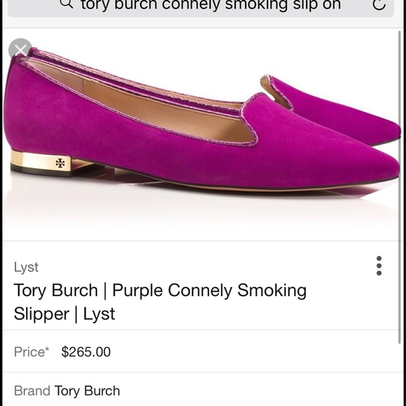 b1b7e3fa605 Tory Burch Shoes - NWOT Authentic Tory Burch Connely Smoking slip on