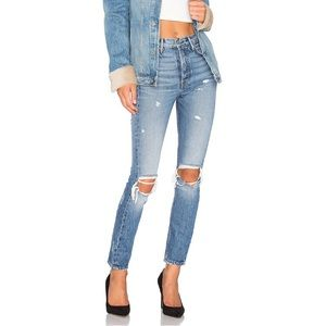 grlfrnd Karolina high rise denim!