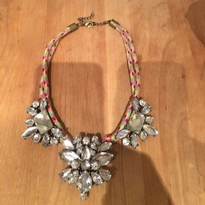 bauble bar Jewelry - bauble bar multicolor crystal necklace