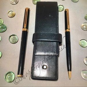 Montblanc Accessories - 💯Authentic Montblanc Pen & Pencil Set and Case🖊
