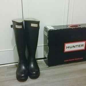 🔻SALE NWT Hunter original tall welly rain boots