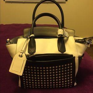 Reed Krakoff Handbags - REED by Reed Krakoff white/black purse