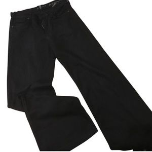 7 For All Mankind Pants - 7 for all mankind black trousers