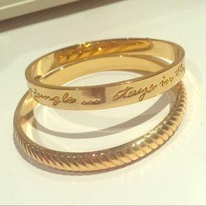 Lilly Pulitzer Jewelry - Lilly Pulitzer gold bangle set