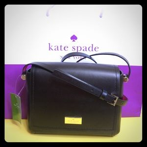 Kate Spade Avva Arbour Hill Crossbody Bag Black