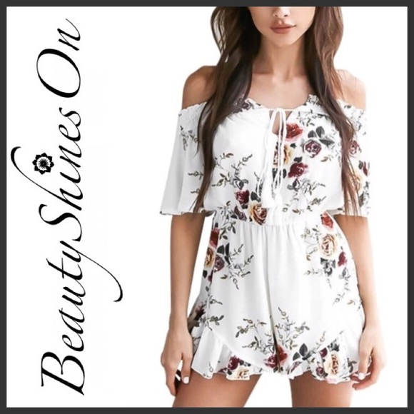 56b4afe8e6e ... 🆕 SWEET LILY Romper. Boutique. Beauty Shines On Boutique