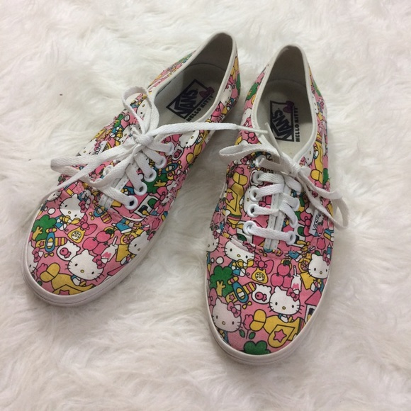 769710e193f Vans Shoes - Friday Sale! Vans Hello Kitty Limited Edition