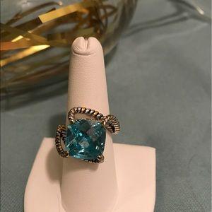 Jewelry - 🌸Aqua CZ Ring🌸