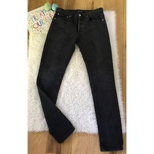 A.P.C. Denim - EUC A.P.C Petit Standard Grayish Black Skinny Jean