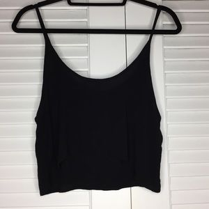 Tops - NWOT PacSun LA Hearts Cami Cropped Tank in Black