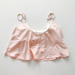 Kortni Jeane Blush Pink Swing Top