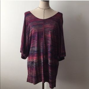 Sejour Sweaters - NWT Sejour multi colored blouse or tunic