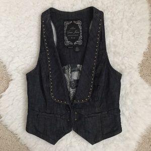 Never worn Guess Denim Stretch Vest