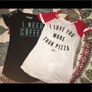 ***TWO*** Victoria Secret sleep shirts