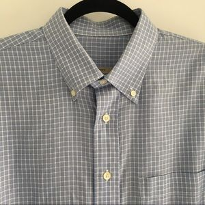 Burberry Other - Burberry Men's Button Down Blue Shirt size L