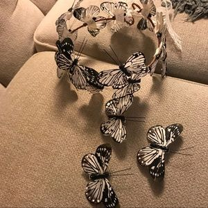 Free People Accessories - Butterfly crown