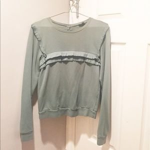 Topshop Sweaters - TOPSHOP Teal Sweater Top