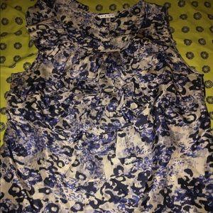 CABI Ruffled blouse
