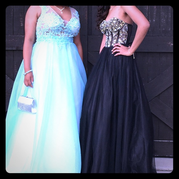 Blondie Nites Dresses | Corset Prom Dress Size 1 | Poshmark