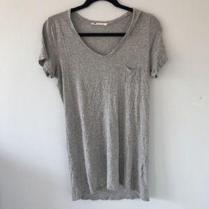 Alexander Wang Tops - Alexander Wang long grey tee shirt