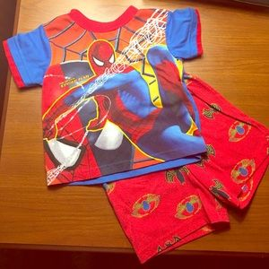 Spiderman Other - 🚼Spider-man Short PJ Set