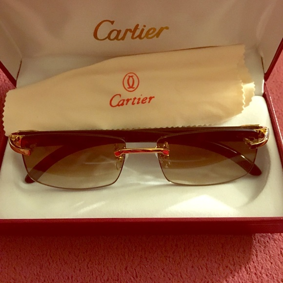 f71cb48f1d01 Cartier Other - Genuine Buffalo horn Cartier glasses brand new