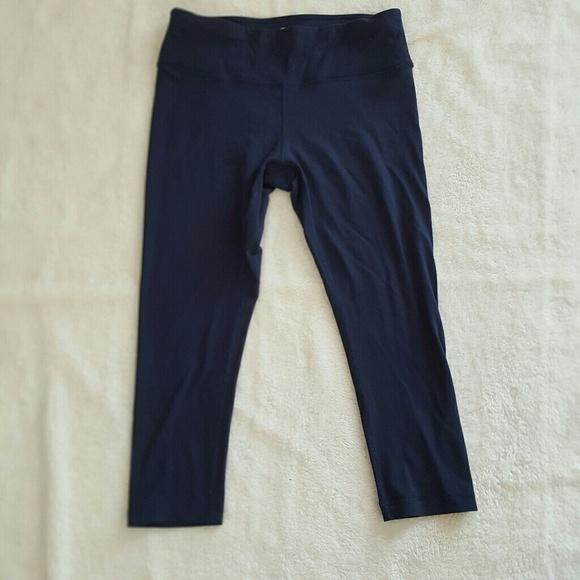 e1636fa03 [90 Degrees] Navy Blue Yoga Leggings