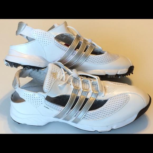 Adidas Climacool Traxion WhiteGolf Shoes Women SZ8