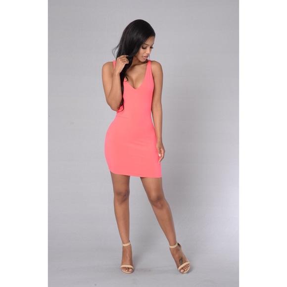 226d1777a15c Fashion Nova Dresses | Hot Coral Sexy Short Dress | Poshmark