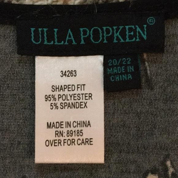 Ulla Popken Dresses - Floral Print Dress