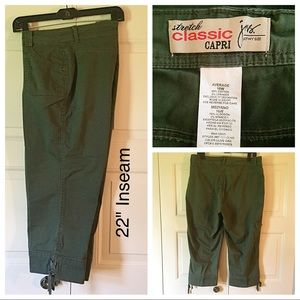 Just My Size Pants - Just My Size Classic Stretch Capris.  NWOT