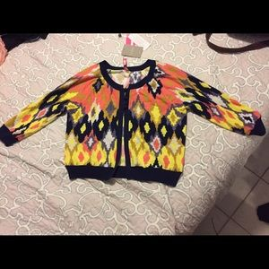 Plenty by Tracy Reese Sweaters - NWT Colorful Cardigan Tracy Reese Plenty