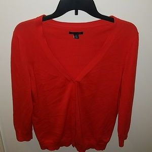 Tommy Hilfiger Sweaters - Tommy Hilfiger Red Cardigan