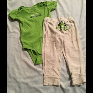 carters Other - Carters toddler boy little dinosaur playtime set