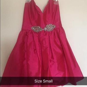 Pink Cocktail Dress