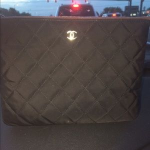 CHANEL Handbags - Authentic Chanel Quilted Clutch Case