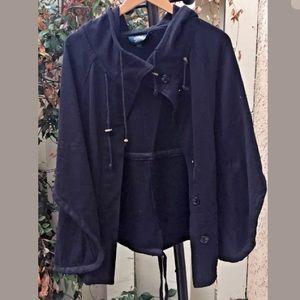 Sebby Jackets & Blazers - Women's Sebby black hooded coat Black Size S/M