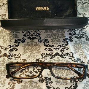 Versus By Versace Accessories - Versace VERSUS Havana Eyeglass Frames