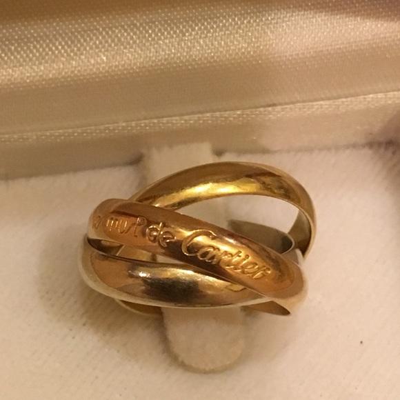 de55820ff62ad Cartier trinity ring must de Cartier