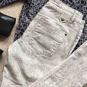 Ikks Denim - IKKS B&W Graphic Slim Fit Jeans