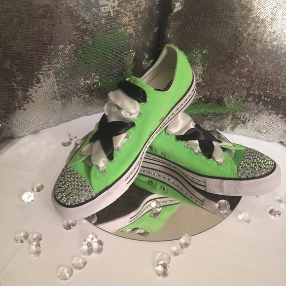 50af18d3f3d8 Made to Order Custom Lime Converse