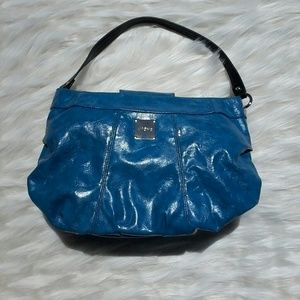 Miche Handbags - MICHE MARBLED ELECTRIC BLUE HOBO SHELL