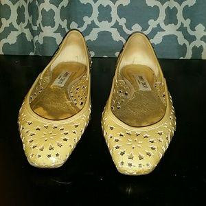 Jimmy Choo Shoes - Authentic Jimmy Choo Nude flats,  size 9.5