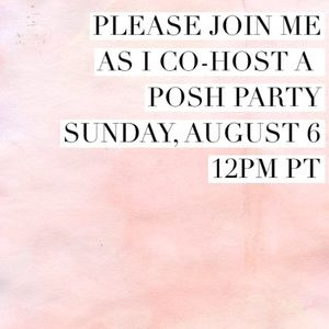 Posh Party Accessories - Co-hosting a Posh Party: 8/6/17
