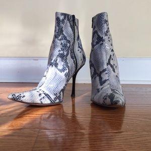 Steven by Steve Madden Shoes - Steven snakeskin size 7 boots