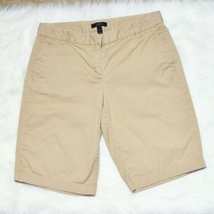 J.Crew Beige Bermuda Shorts