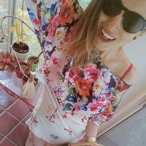 Zara Dresses & Skirts - Zara floral dress